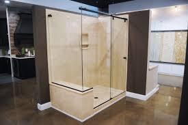 Glass Shower Doors With Tub by Bathroom Home Depot Shower Doors For Inspiring Frameless Bathroom