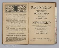 Map Of New Mexico Cities And Towns by Title Page New Mexico David Rumsey Historical Map Collection