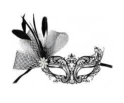 laser cut masquerade masks masks by success creations musette fancy laser cut