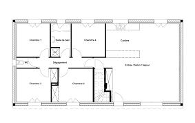 plan maison 120m2 4 chambres plan de maison rez de chausse maison plan le rez de chauss plan