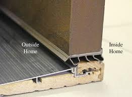 Shower Door Drip Rail Replacement by Vinyl Door Sweep U0026 This Item Frost King B59 36h Premium Aluminum