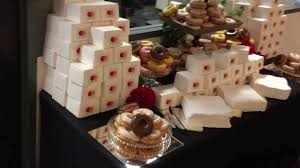 The Candy Buffet by Mastercard Logo Donut Wall The Candy Buffet Company Youtube