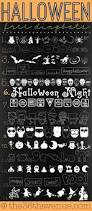 132 best fonts images on pinterest halloween fonts halloween