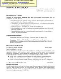 Resume Examples For Registered Nurse by Icu Rn Resume Sample Http Www Rnresume Net Check Our Rn Resume