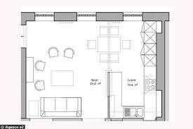 exemple plan de cuisine exemple cuisine ouverte sejour maison design bahbe com