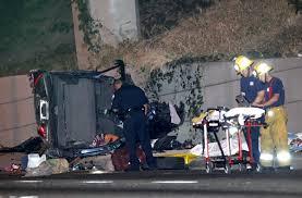 deadly crash shuts lanes of the 134 freeway l a now los
