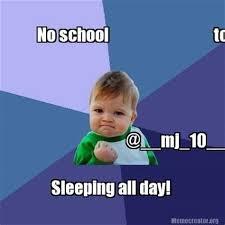 No School Tomorrow Meme - th id oip h3xii yvmnqnzrv gtatkghaha