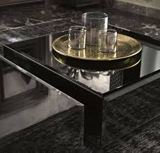 contemporary coffee table glass commercial rocks fiam italia