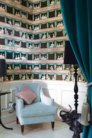 Fornasetti Curtains Cole U0026 Son Introduces Fornasetti Ii Wallpaper Collection