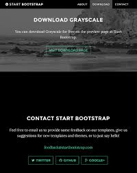 Free Responsive Email Template Download by 40 Brilliant Free Bootstrap Templates 2017