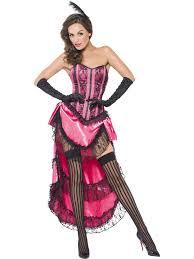 Western Halloween Costumes Showgirl Burlesque Dancer Saloon Wild Western