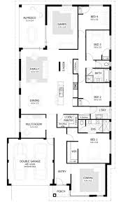 apartments four bedroom plans four bedroom single story house
