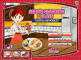 jeux de cuisine ecole de fajitas au poulet école de cuisine de jeux jeu fr