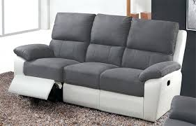 canap relax 3 places tissu canape 3 place canapac 3 places dovali en tissu gris canape 3 places
