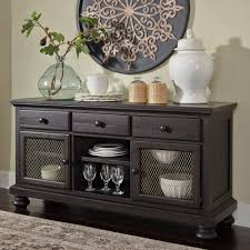 ashley furniture sharlowe dining room buffet in charcoal local