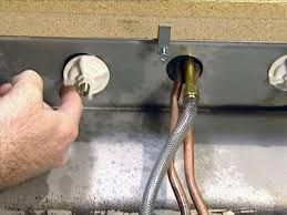 Kitchen Faucet Leaking Under Sink How To Install A Single Handle Kitchen Faucet How Tos Diy