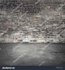 empty abstract interior background dark old stock photo 398810248