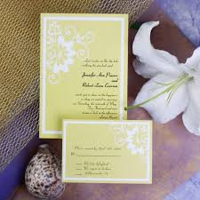 budget wedding invitations cheapest wedding invitations with color combination for