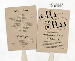 program fans wedding best 25 fan wedding programs ideas on fan programs