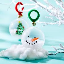 clear glass christmas ornaments michaels buy the 4ct clear plastic