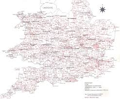 A Map Of England by Maps Scanned Collections Online