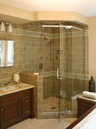 Bathrooms With Corner Showers Corner Showers For Small Bathrooms Tips Bathroom Ideas