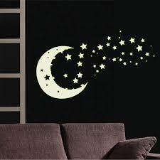 etoiles phosphorescentes plafond chambre chambre etoiles fluorescentes plafond chambre sticker clair de