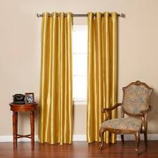 buy gold silk curtains from bed bath u0026 beyond