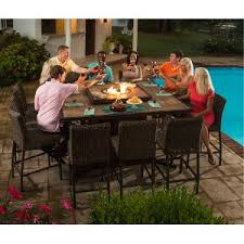 patio furniture with fire pit table firepits backyard fire pits rc willey furniture store