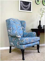 Small Wing Chairs Design Ideas Magnificent Ideas For Wingback Chair Design Blue