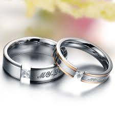love wedding rings images Girlz silver titanium couple ring for men women amazon in jpg