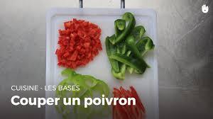 cuisiner poivron couper un poivron cuisiner des légumes