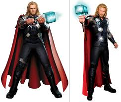 Custom Halloween Costumes Thor Odinson Cosplay Costume Avengers Tight Muscle Super