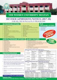 department of zoology the women university multan
