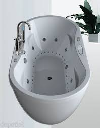36x71 dual whirlpool air system bathtub 8 water jets 26 air