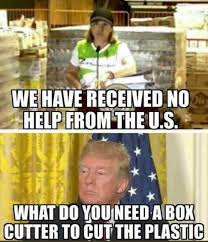 Garbage Man Meme - video shows where puerto rico s aid went spoiler it s in a