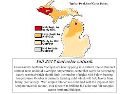 northern michigan forecast recipe u0027brilliant fall color