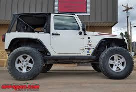 jeep wrangler jk tires jeep wrangler jk on 37 inch tires on stock springs road com