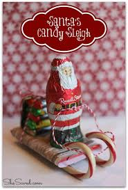 Edible Christmas Gifts The 25 Best Candy Sleigh Ideas On Pinterest