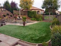 Arizona Backyard Landscaping by Artificial Grass San Tan Valley Arizona Backyard Deck Ideas