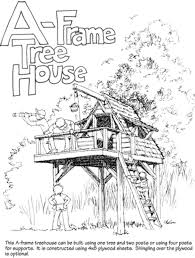A Frame House Designs by 9 Completely Free Tree House Plans