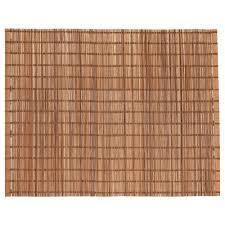placemats coasters ikea toga place mat natural bamboo length 13