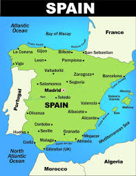 San Sebastian Spain Map by Map Spain