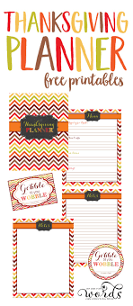 thanksgiving worksheets meal planning thanksgiving blessings