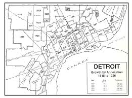 Metro Detroit Map by Detroit Transit History The Dur Years 1901 1922