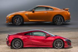 nissan gtr vs would you rather the acura nsx or nissan gt r luxury4play com