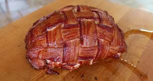 bacon wrapped boneless turkey breast smoked recipe