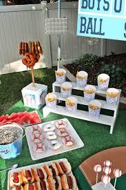 yankees baseball themed baby shower halfpint party design
