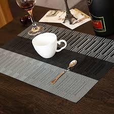 dining table heat protector 4pcs retro adiabatic placemat mat heat stain protector dining table
