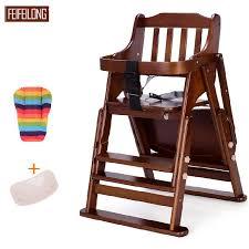 siege bebe pour manger pin wodden bébé à manger chaise haute réglable bébé siège bébé